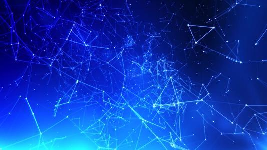 4K视频素材-100个点线连接抽象粒子特效背景动画 100 Plexus Pack