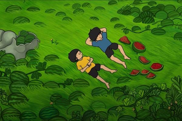 """入围""""动画片届奥斯卡""""国产动画《我和吸铁石和一个死去的朋友》"""
