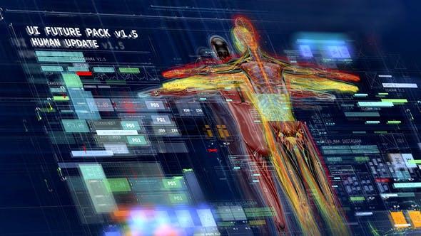 未来高科技信息UI元素包 UI FUTURE PACK V1.5