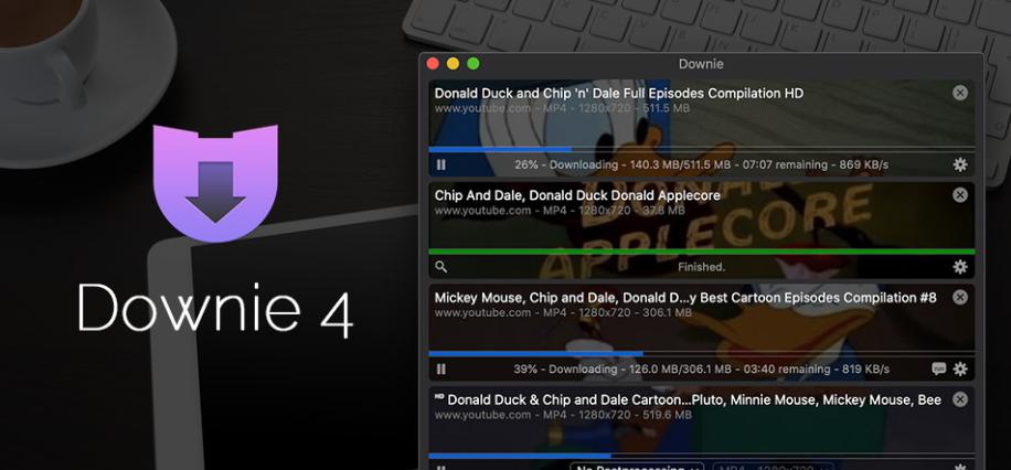 MAC软件:Downie 4.0.11_极致好用的视频下载利器